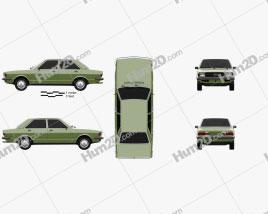 Audi 80 (B1) 1976