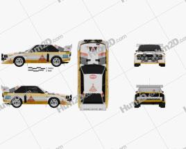Audi Quattro Sport S1 E2 1985