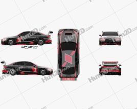 Audi RS3 LMS 2017 Clipart
