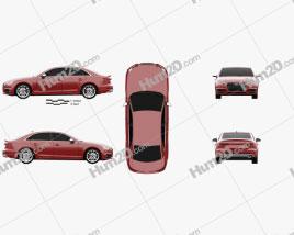 Audi S4 2016 car clipart