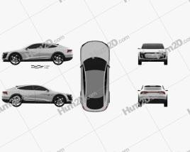 Audi Elaine 2017 car clipart