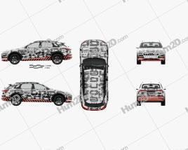 Audi e-tron Prototype mit HD Innenraum 2018 car clipart