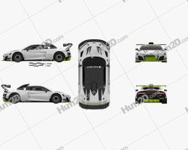 Audi R8 LMS GT2 2021 car clipart