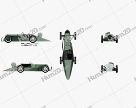 Austin 7 Blaue Maus Special 1929