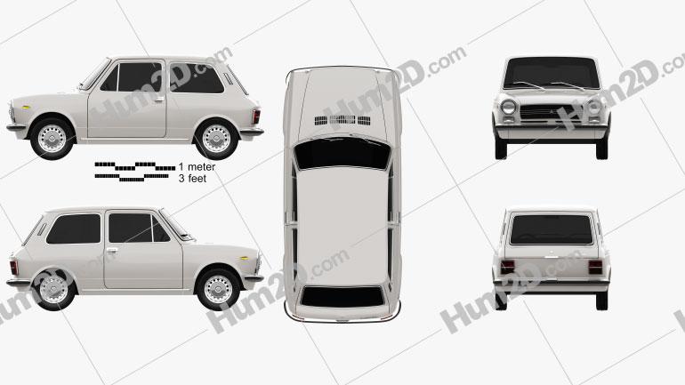 Autobianchi A112 E 1971