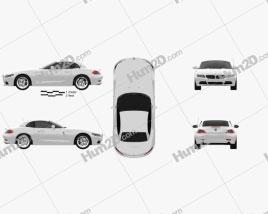 BMW Z4 2010 car clipart