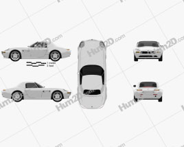 BMW Z8 (E52) car clipart