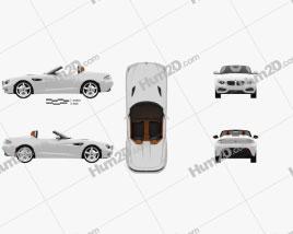 BMW Zagato Roadster 2012 Clipart