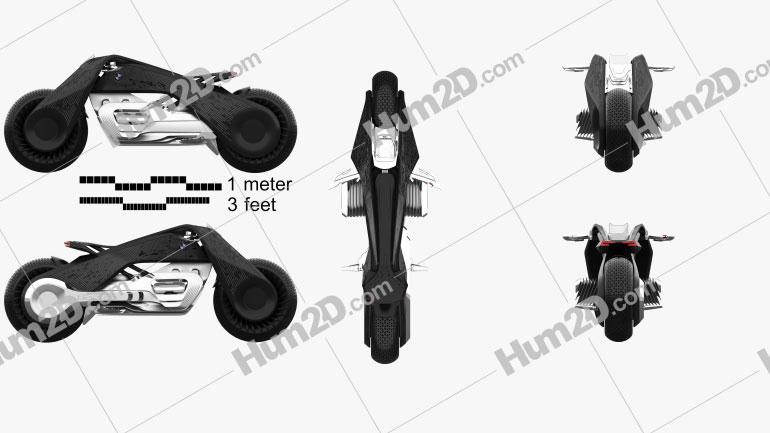 BMW Motorrad VISION NEXT 100 2016 Moto clipart