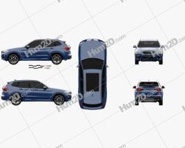 BMW X3 M (G01) 2018