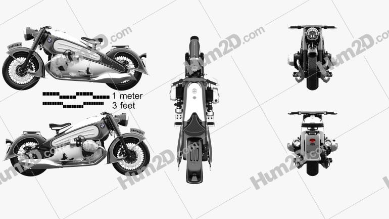 BMW R7 Nostalgia 2020 Motorrad clipart