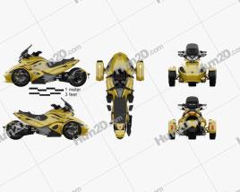 BRP Can-Am Spyder ST 2013