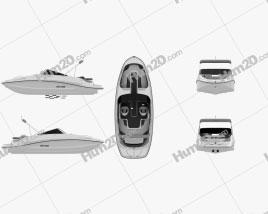 BRP Sea-Doo Challenger 230 2012 Ship clipart