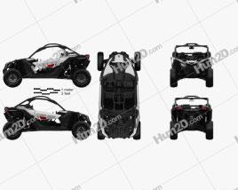 BRP Can-Am Maverick X3 2017 clipart