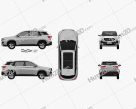 Baojun 530 2018 car clipart