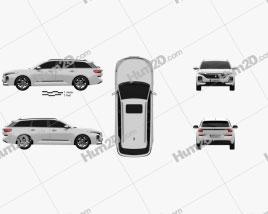 Baojun RC-5W 2020 car clipart