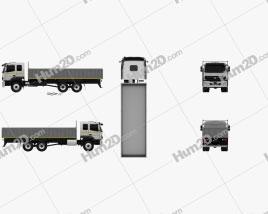 BharatBenz 2823r Flatbed Truck 2019