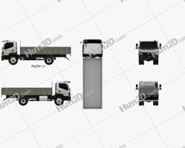 BharatBenz MDT 1015R Flatbed Truck 2019