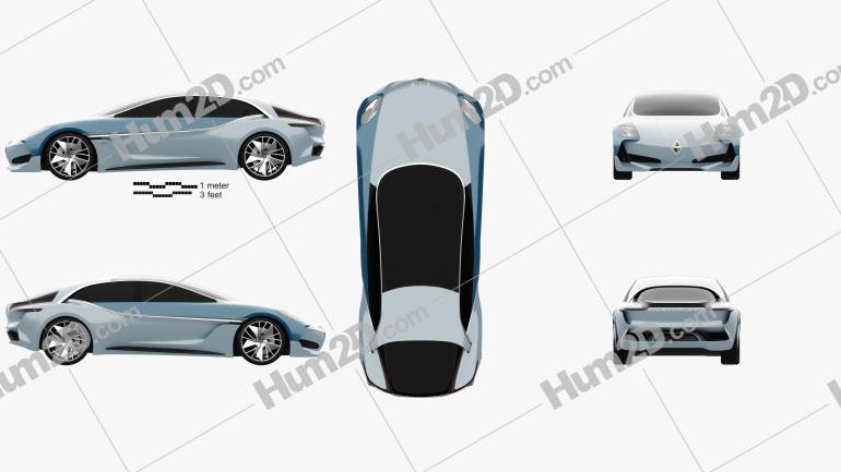 Borgward Isabella 2017 car clipart