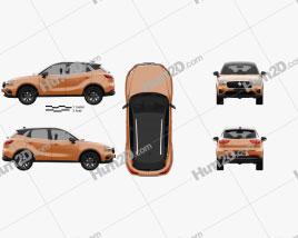Borgward BX3 2020 car clipart