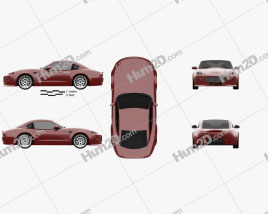 Bufori CS 2009 car clipart