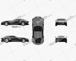 Bugatti Atlantic 2015 Clipart