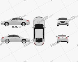 Buick Regal 2012 Clipart