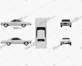 Buick Riviera 1963 Clipart
