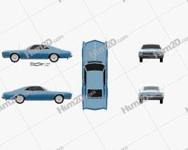 Buick Riviera 1966 car clipart
