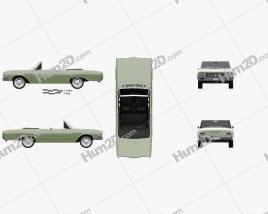 Buick Skylark convertible 1964