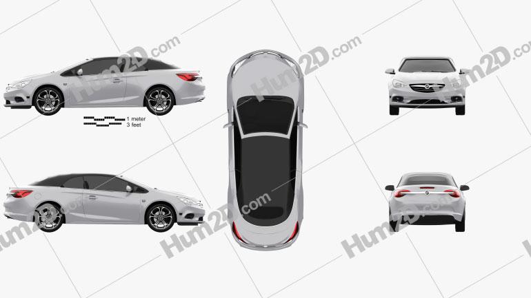 Buick Cascada 2016 Clipart Image