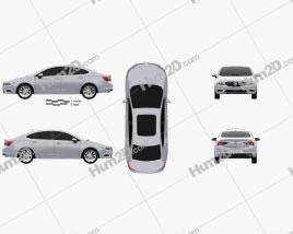 Buick Verano (CN) 2015 car clipart