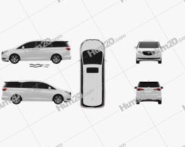 Buick GL8 ES 2016 clipart
