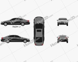 Buick Park Avenue CN-spec 2007 Clipart