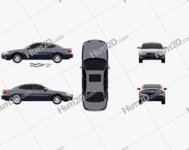 Buick LaCrosse CXS 2005 Clipart