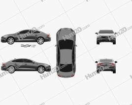 Buick LaCrosse Avenir 2018 car clipart