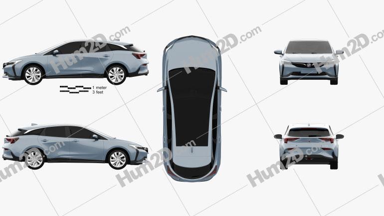 Buick Velite 6 PHEV 2018