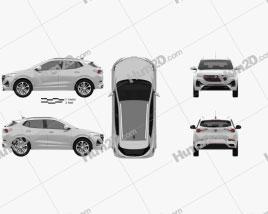 Buick Encore GX ST 2019 car clipart