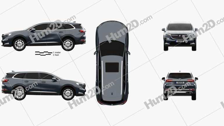 Buick Enclave CN-spec 2019 car clipart