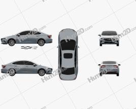 Buick Verano 2020 car clipart