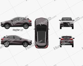 Buick Encore GX 2020 car clipart