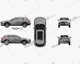 Buick Envision 2021 car clipart