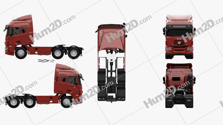 C&C U460 Tractor Truck 2010