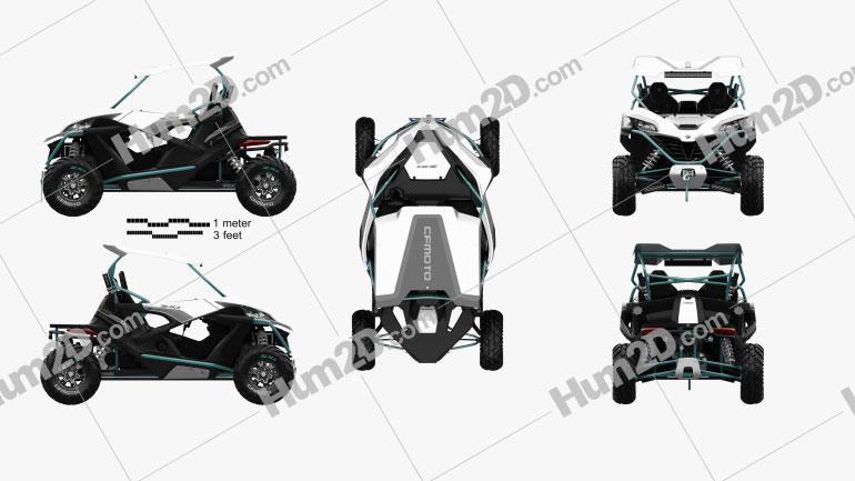 CFMOTO ZForce Z10 1000 2020 Imagem Clipart