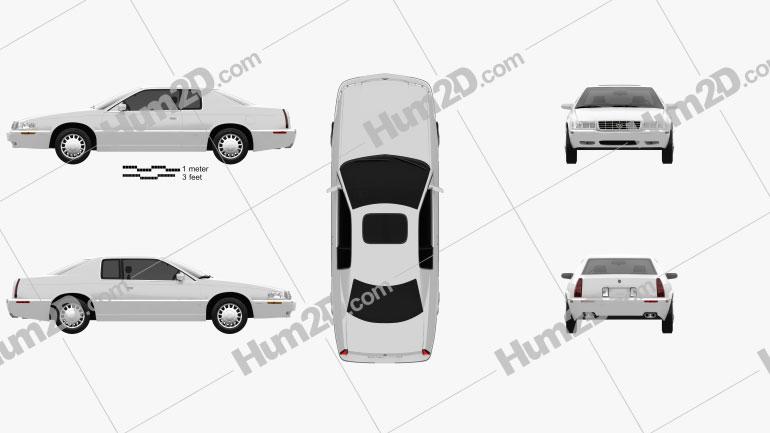 Cadillac Eldorado 2002 Clipart Image