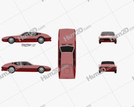 Cadillac NART 1970 car clipart