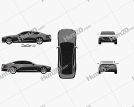 Cadillac Escala 2016 car clipart