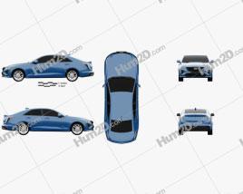 Cadillac CT4 V 2020 car clipart