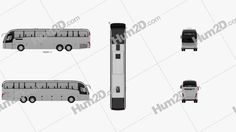Caetano Levante Bus 2013 clipart
