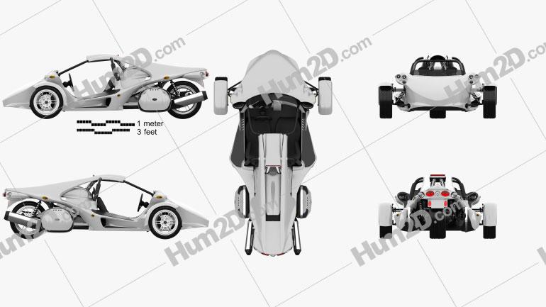 Campagna T-Rex 16S 2013 Moto clipart